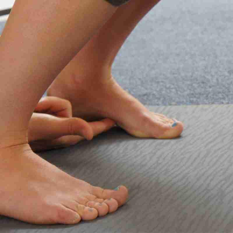 adjusting yoga poses workshop